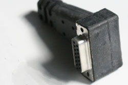 Custom Insert Molded Sub-D Connector for Industrial Control Application